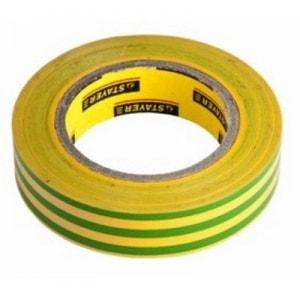 Изолента ПВХ  желто-зеленая