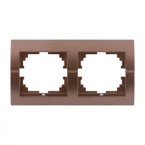 702-3100-147 Рамка двойная Deriy