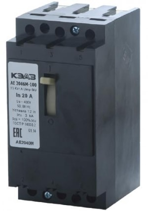 АЕ 2046 М-100 (3ф) 40А