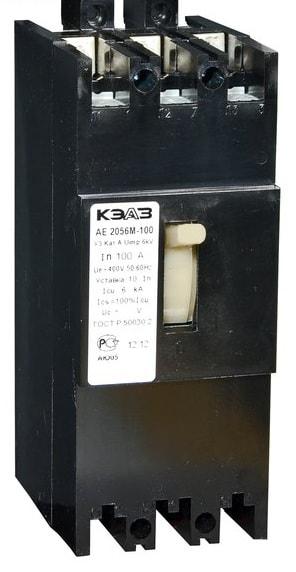АЕ 2056-М1-100 (3ф) 125А