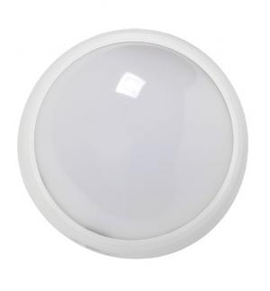LED ДПО 3010 Круг. 8w IP54 бел