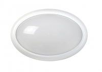 LED ДПО 3020 Овал. 8w IP54 бел.