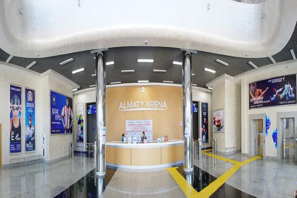 Almaty Arena.Ледовая арена на 12000 мест (г.Алматы)