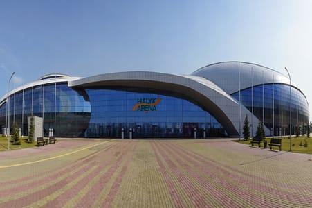 Halyk Arena.Ледовая арена на 3000 мест (г.Алматы)