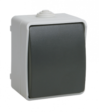 Выключатель 1кл IP54 ФОРС IEK (ВС20-1-0-ФСр)