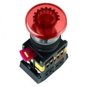 Кнопка АELА-22(грибок красный неон)