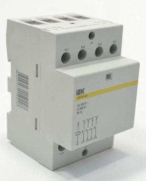 Контактор модульный КМ40-40 АС/DC