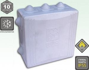 KSC 11-304 (коробка устан. о/п 125*125*50)