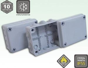 KSC 11-307a(110х150x50 коробка распаячн. о/п ) IP65