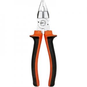 Пассатижи  оранж.180мм (8102)