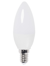Лампа LED C35 Свеча 5w 3000K E14 IEK