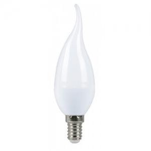 """LED C37 """"Свеча на ветру"""" 4.5w 230v 2700K E14-F MEGALIGHT"""