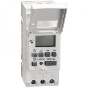 Таймер ТЭ15 цифровой 16А 230В на DIN-рейку IEK (100)