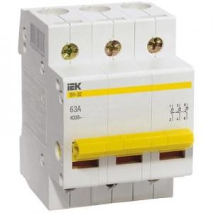 Выкл. нагрузки ВН-32 (3ф)  63А IEK (80)